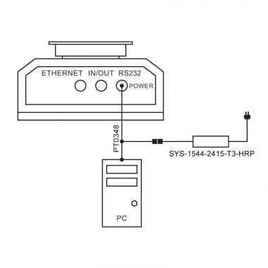 Адаптер питания SYS-1544-2415-T3-HRP