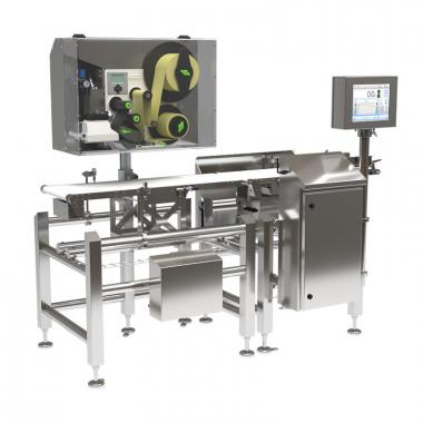 DWM HPE - Labelling Checkweigher